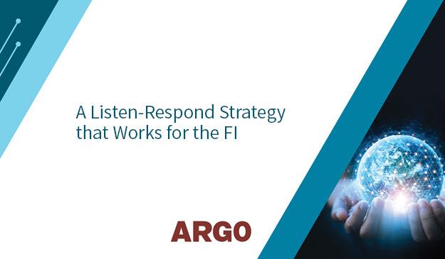 listen-respond strategy